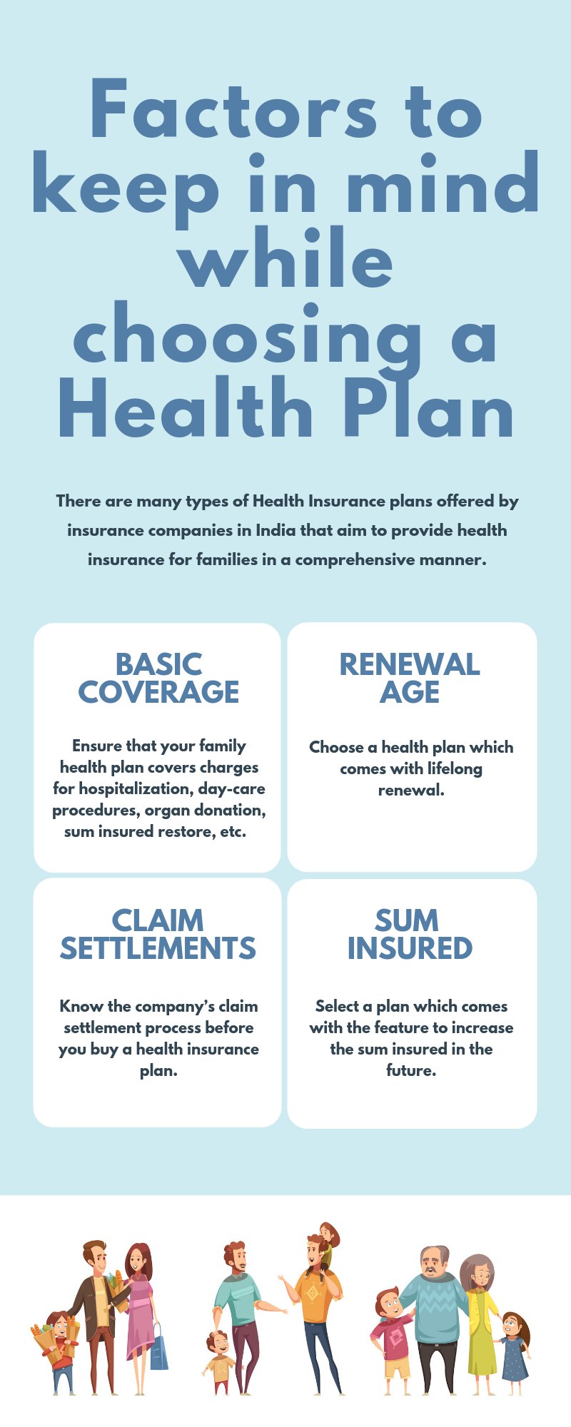 Choose A Health Insurance Policy For Family