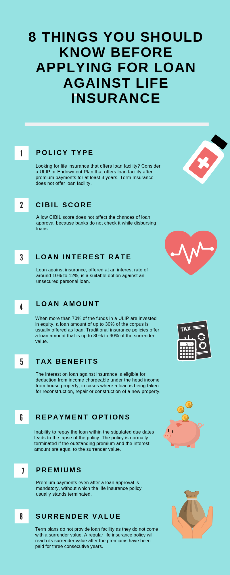 How to get loan against life insurance policy?