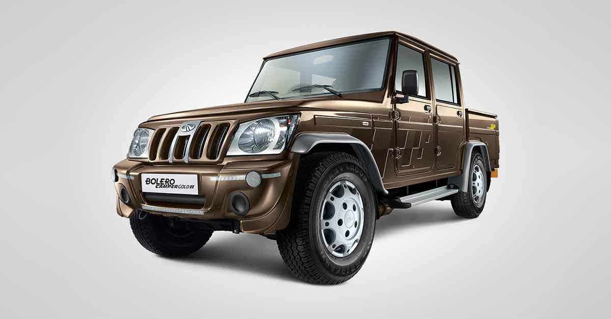 Mahindra Bolero Camper Car Insurance