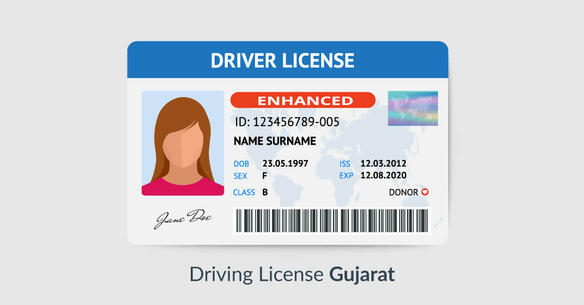 driving license renewal online gandhinagar