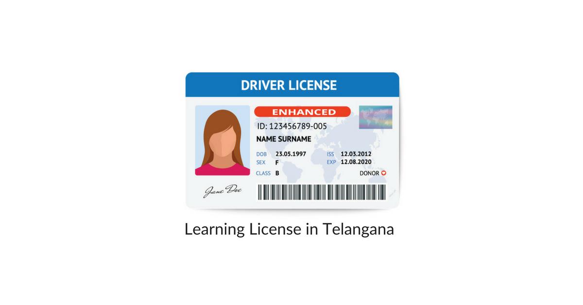 Telangana Learning License: LL Application Process in Telangana